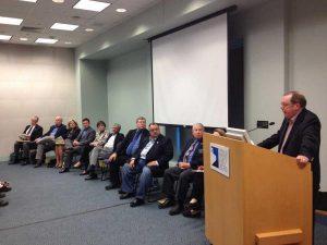 Lgislators speaking