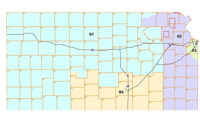 2012 Kansas Congressional district map